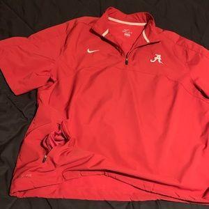 XXL Nike DriFit Alabama Crimson Tide s/s pullover